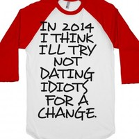 A Change-Unisex White/Red T-Shirt