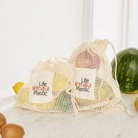 Life Without Plastic Organic Cotton Mesh Produce Bag | Urban Outfitters