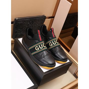 Gucci 2021Men Fashion Boots fashionable Casual leather Breathable Sneakers Running Shoes09150em