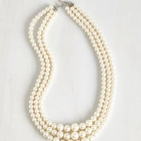 Vintage Inspired And Gem What? Necklace by ModCloth
