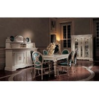 San Marco Exclusive Dining Set Collection in White