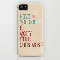 have yourself a merry little christmas iPhone & iPod Case by Sylvia Cook Photography