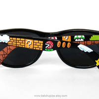 Sunglasses  Custom Wayfarer style sunglasses Super by ketchupize