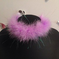 Fluffy Choker from Shop Biohazard