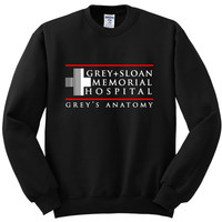 "Grey's Anatomy ""Grey + Sloan Memorial Hospital"" Crewneck Sweatshirt"
