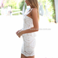 ON MORE NIGHT DRESS , DRESSES, TOPS, BOTTOMS, JACKETS & JUMPERS, ACCESSORIES, 50% OFF SALE, PRE ORDER, NEW ARRIVALS, PLAYSUIT, COLOUR, GIFT VOUCHER,,White,Print,LACE,STRAPLESS,BODYCON,MINI Australia, Queensland, Brisbane