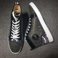 DCCK2 Cl Christian Louboutin Style #2134 Sneakers Fashion Shoes