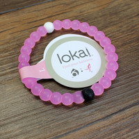 Pink Cancer Awareness Lokai Bracelet on sale best for the Gift.