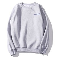 Champion Men and women sweater coat grey