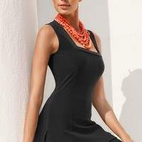 Boston Proper Sleeveless square-neck tunic