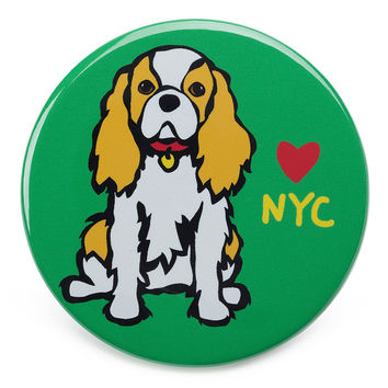 NYC Cavalier King Charles Magnet
