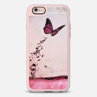 Waterfly (pink) iPhone 6s case by DejaReve | Casetify