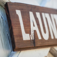 Rustic Ship Lap Laundry room wash dry fold self serv laundry quote rustic wood sign blue white humor do your own laundry fold your clothes