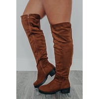Happy Trails Boots: Chestnut