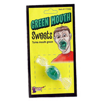 Stupid.com: Green Mouth Candy