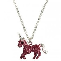 Glitter Unicorn Necklace   Animal Shop   Jewelry By Trend   Shop Justice