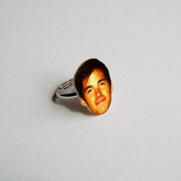 Ian Harding from Pretty Little Liars Adjustable Ring Funny Novelty Gift