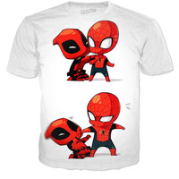 Dead pool And Spider-Man