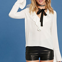 Contemporary Ruffled Top