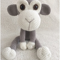 Monkey pattern by Alinies amigurumi pdf in Dutch, Deutsch and English- US terms