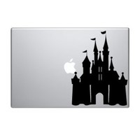 Disney Castle Macbook Decal Laptop Sticker Decorative Computer Accessory Electronics Vinyl Stickers Mac Book Pro Skins Apple Decals Skin