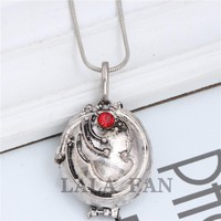 Vampire Diaries Elena Vervain Box Necklaces Movies Jewelry XL073