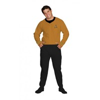 Star Trek Command Gold Adult Footed Onesuit