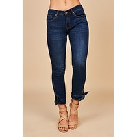 Dreaming Of The Day Skinny Jeans (Medium Dark Wash)