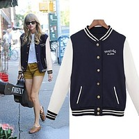 2017 NEW Spring Coat Baseball Jacket Women Fashion Bomber Jackets College Varsity Jackets Casaco Jaquetas feminina S~XXL