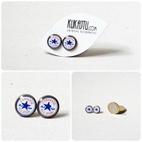 Converse All Star earring stud, Converse jewellry, blue star, classic All Star Converse, gift for her