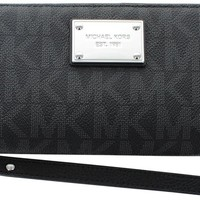 MICHAEL Michael Kors Jet Set Travel Logo Continental Wallet