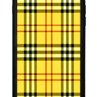 yellow plaid iphone 6 7 8 plus case  number 1