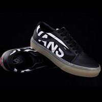 Vans Classic Print Letter Luminescent shoes Sneakers Sport Shoes