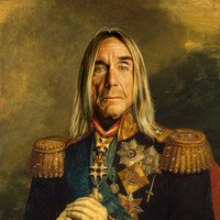 Iggy Pop - replaceface Art Print by Replaceface