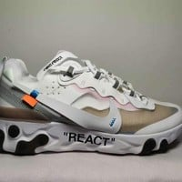Nike Upcoming React Element 87 white 36-45