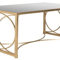Melosa Coffee Table Antique Gold Leaf