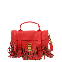 Proenza Schouler Mini PS1 Fringe Bag | Kirna Zabete