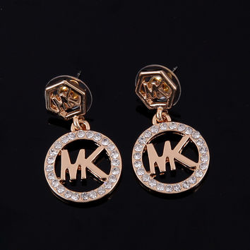 Accessory Rhinestone Strong Character Earrings [8573752717]