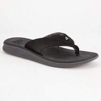 Reef Rover Mens Sandals Black  In Sizes