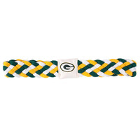 Green Bay Packers NFL Braided Head Band 6 Braid
