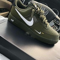 Nike Air Force 1 07 Lv8 Utility men and women casual fashion wild sports shoes-4