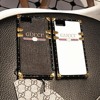 Gucci Popular Letter Print iPhone 8 iPhone 8 plus iPhone 7 iPhone 7 plus - Stylish Cute Lovers Phone Case For iphone 6 6s 6plus 6s plus