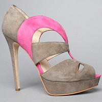The Caurah Shoe in Gray and Pink by Boutique 9 Shoes   Karmaloop.com - Global Concrete Culture