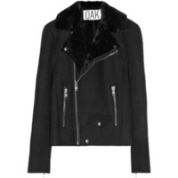OAK Rider shearling biker jacket