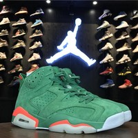 Best Deal Online Nike Air Jordan 6 Retro Gatorade Men Sneakers 384664-145
