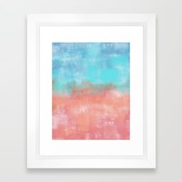 Abstract vibe 03 Framed Art Print by vivigonzalezart