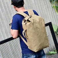 Canvas Backpack Rucksack (3 Colors)