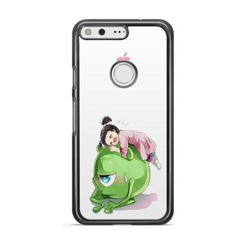 Monster Inc Cute Mike And Boo Google Pixel 3 XL Case | Casefruits