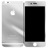 MIRRORED IPHONE PROTECTOR SILVER