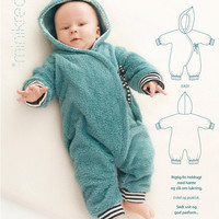 Bunting Suit / Bunting Bag - 10550 - Minikrea sewing pattern - newborn - 9mo (4823.90.00.95)